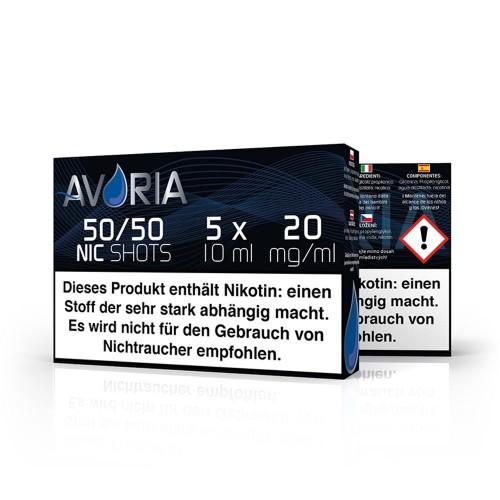Nikotin-Shot VPG 50/50 - Avoria