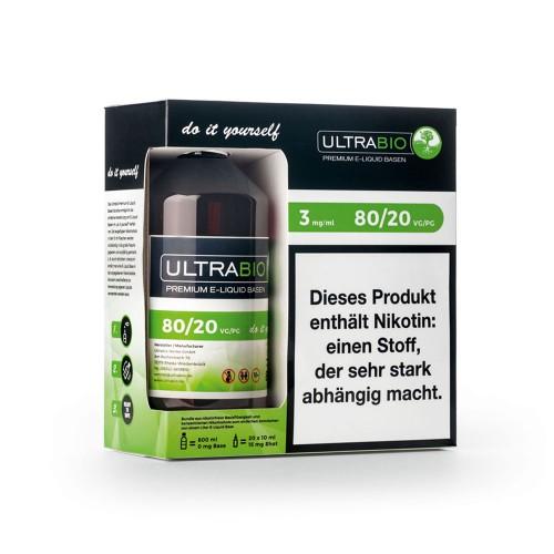 Ultrabio Basen Bundle 80/20 3mg