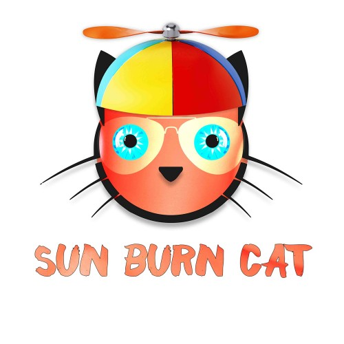 Sun Burn Cat - Copy Cat