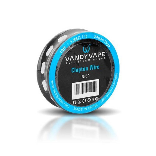 Clapton Wire Ni80 - Vandy Vape