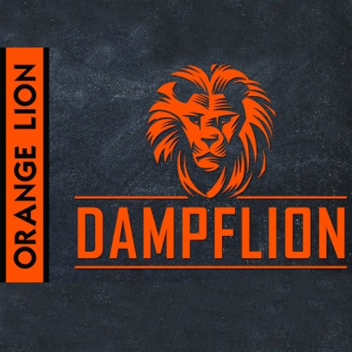 ORANGE LION - Dampflion
