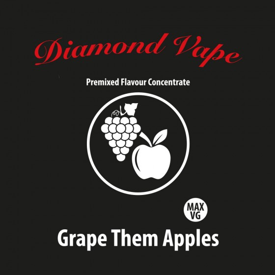 Grape Them Apples - Diamond Vape Premix