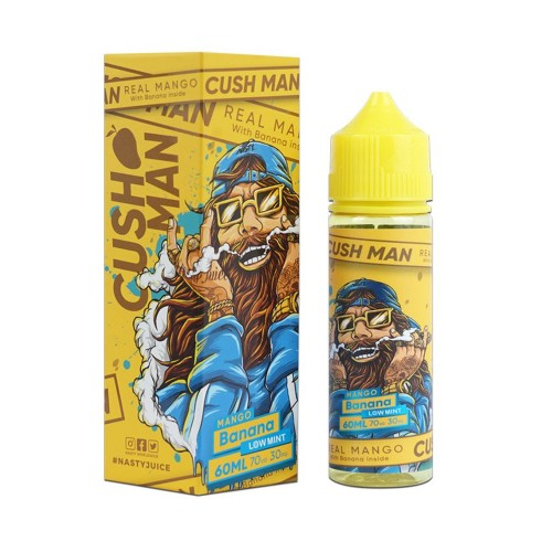 Cush Man - Mango Banana - Nasty Juice