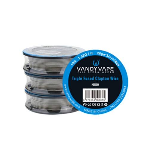 Vandy Vape Triple Fused Clapton Wire