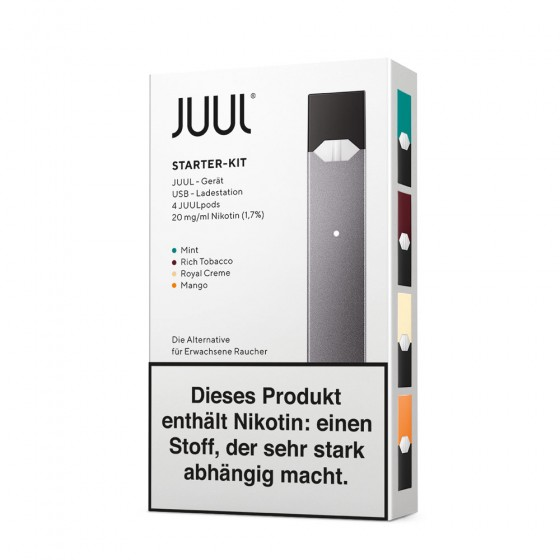 Juul - Starter Kit (ink. 4 Tasting Pod)