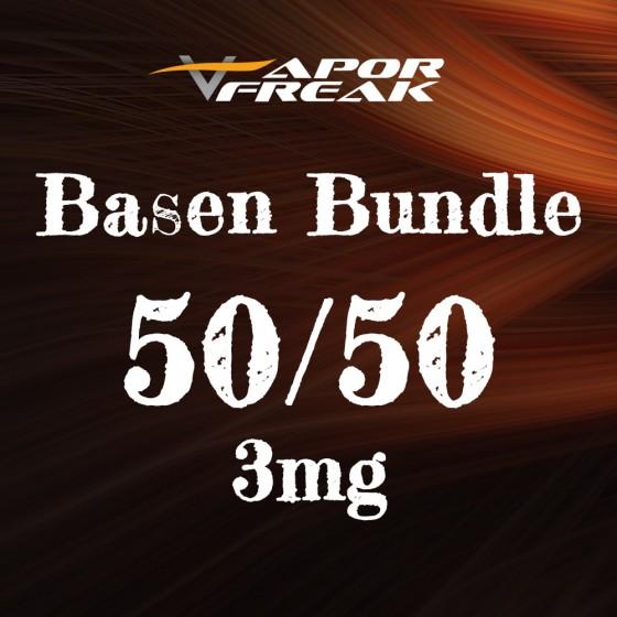 Basen Bundle 50/50 3mg - Vapor Freak