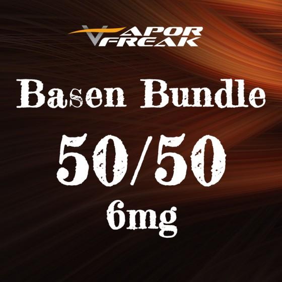Basen Bundle 50/50 6mg - Vapor Freak