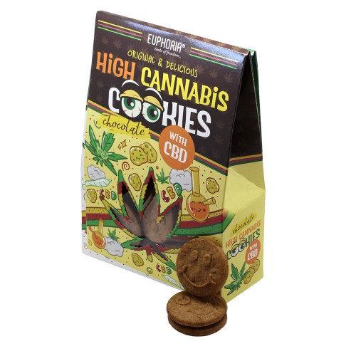 High Cookies Cannabis Chocolate CBD - Euphoria